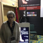Elvira Di Cave al COngresso Internazionale di Marrakesh, 2019